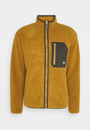 Summer jacket - golden brown