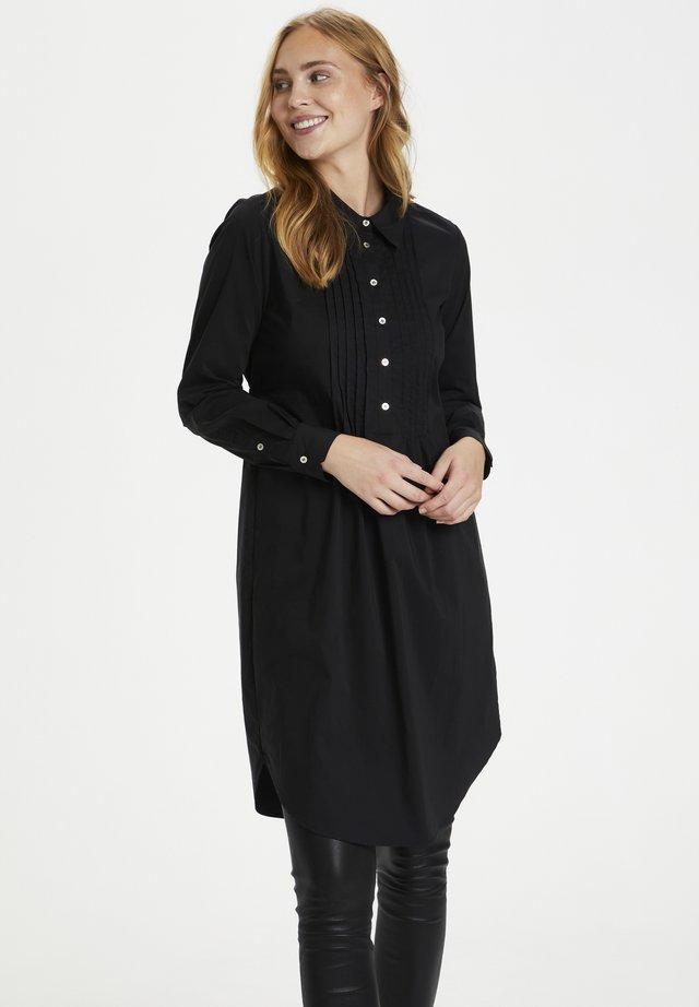 Skjortklänning - black