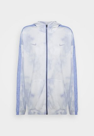 Training jacket - light thistle