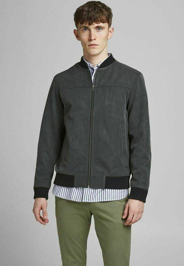 Bomber Jacket - dark grey melange