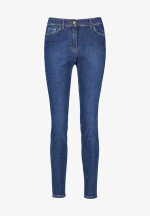 Jeans Skinny Fit - dark blue denim mit use