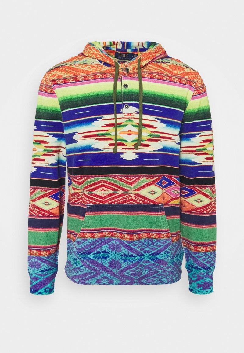 Polo Ralph Lauren - SERAPE-PRINT MESH HOODIE - Bluza - multicolor