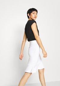 Anna Field - Pencil skirt - white - 3