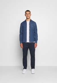 Tommy Jeans - TRACK PANT - Trousers - twilight navy - 1