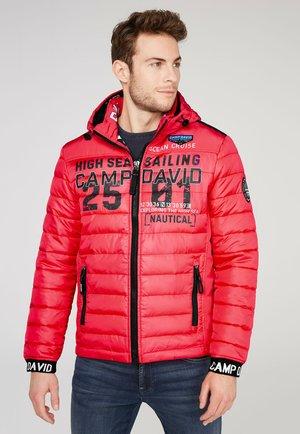 Winter jacket - skipper red