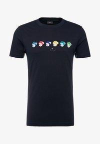 PS Paul Smith - SLIM FIT MONKIES - Potiskana majica - navy - 3