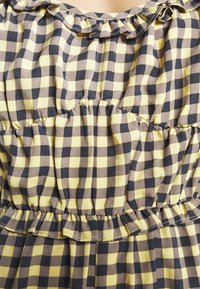Missguided - GINGHAM PLAYSUIT - Overal - yellow - 4
