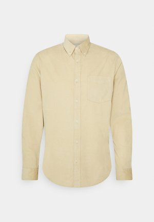 SLHSLIMOSCAR SLIM FIT - Shirt - safari