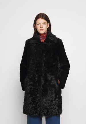 BELLA COAT - Lederjacke - black