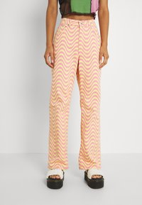 The Ragged Priest - WAVE - Relaxed fit jeans - pink/yellow - 0