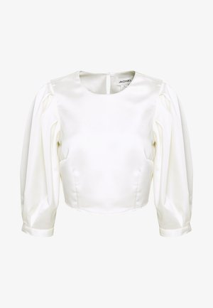 OLLY BLOUSE - Blusa - white light