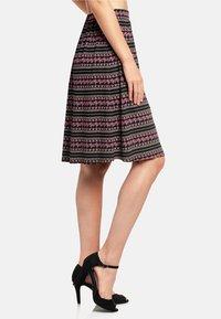 Vive Maria - A-line skirt - schwarz allover - 3