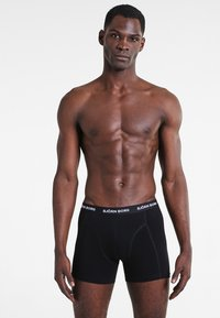Björn Borg - SHORTS SOLIDS 3 PACK - Underkläder - black - 0