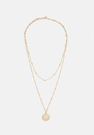 PCSANE COMBI NECKLACE - Halsband - gold-coloured