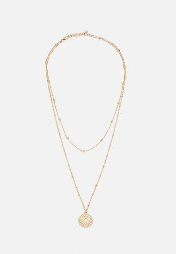 PCSANE COMBI NECKLACE - Necklace - gold-coloured