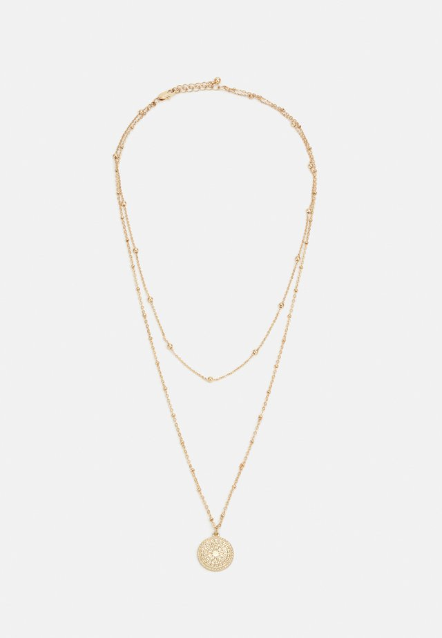 PCSANE COMBI NECKLACE - Kaulakoru - gold-coloured