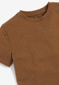Next - T-shirt basic - tan - 2