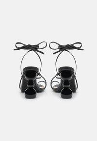 BEBO - CLAUDIA - T-bar sandals - black - 3