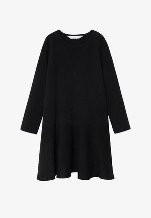 CECI - Jumper dress - zwart
