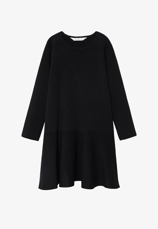 CECI - Strickkleid - zwart