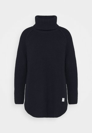 LONG SLEEVE TURTLENECK - Stickad tröja - scandinavian blue