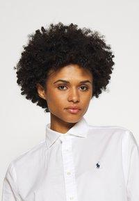 Polo Ralph Lauren - LONG SLEEVE BUTTON FRONT - Button-down blouse - white - 3