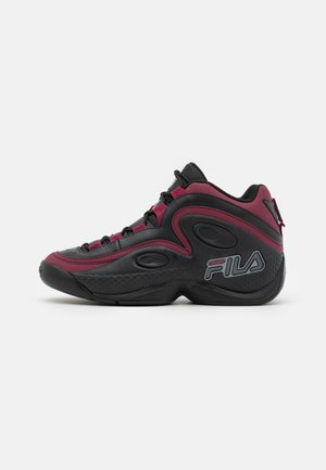GRANT HILL 3 - High-top trainers - black/rhododendron