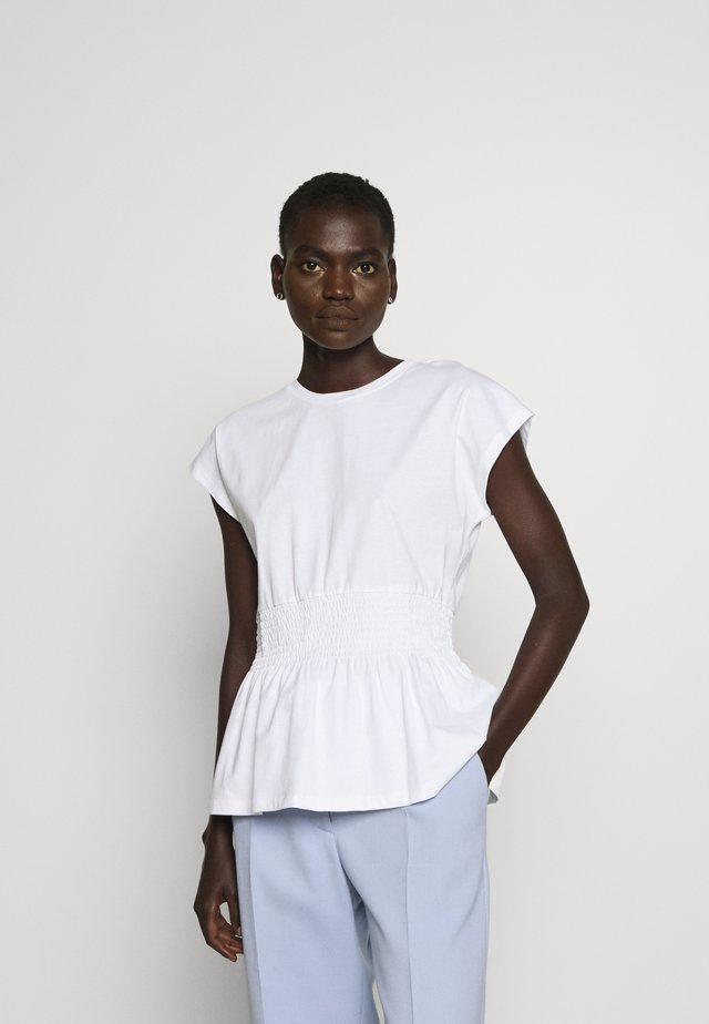 CARLA TEE - T-shirt basic - white