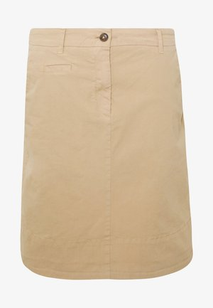 SKIRT CHINO STYLE SHORT LENGTH - Áčková sukně - swedish pine