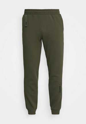 NU TILITY PANTS - Tracksuit bottoms - forest night