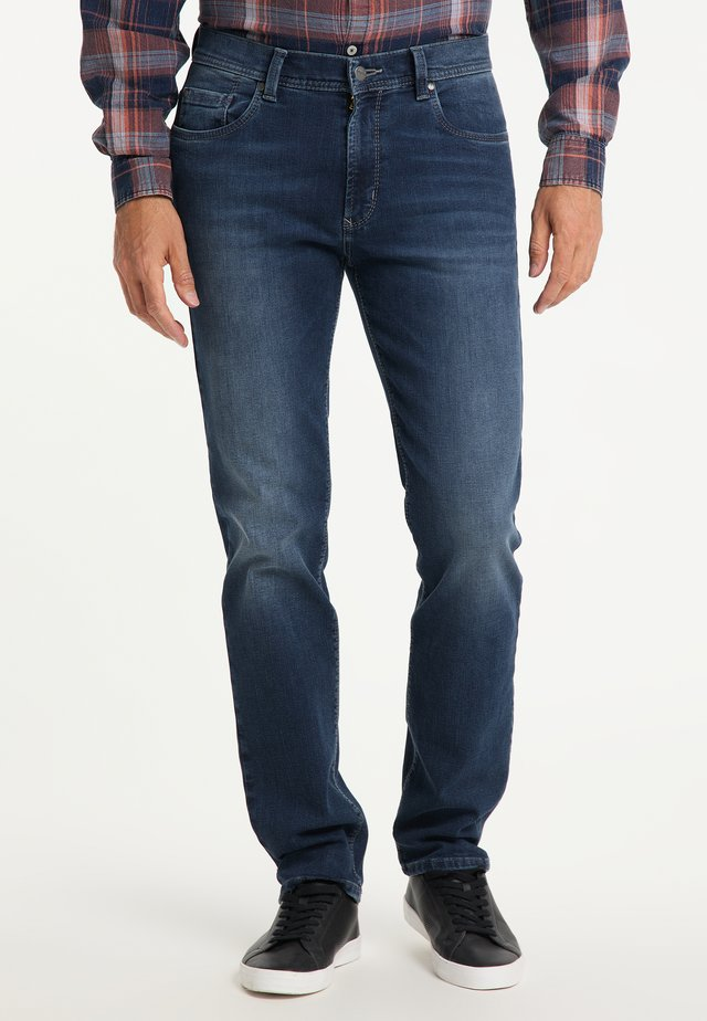 THOMAS - Straight leg jeans - used blue