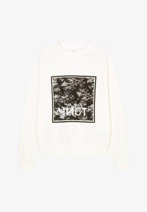 Sweatshirt - clear white