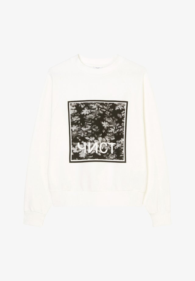 Sweater - clear white