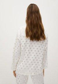 Mango - NIT-I - Pyjama top - hvit - 2