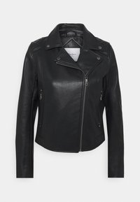 Pepe Jeans - FLORES - Faux leather jacket - black - 5