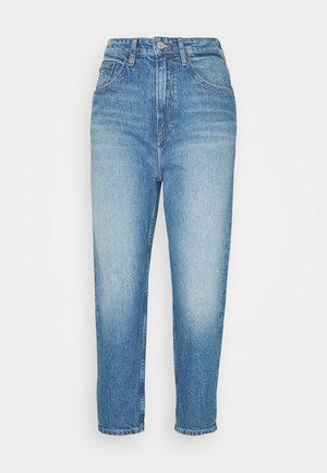 MOM TAPERED - Jeans baggy - light blue
