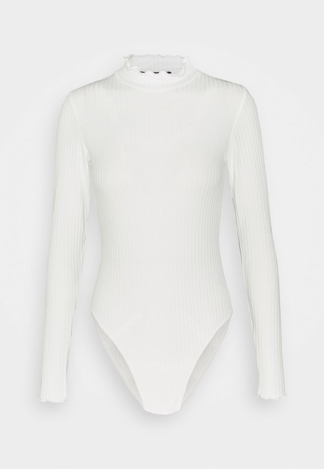 TURTLE NECK BODY - T-shirt à manches longues - offwhite