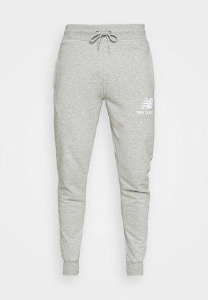 ESSENTIAL STACK LOGO  - Teplákové kalhoty - athletic grey