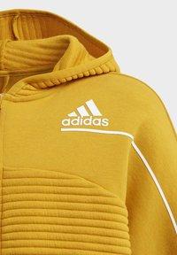 adidas Performance - Zip-up hoodie - leggld/silvmt - 2