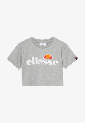 NICKY - T-shirt print - grey marl