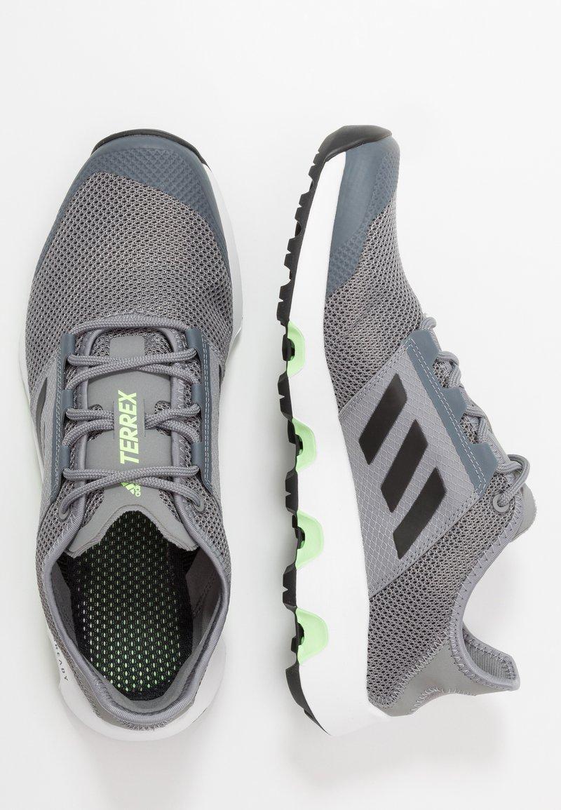 Veloce come un lampo Obsoleto Nel nome  adidas Performance TERREX VOYAGER - Scarpe da camminata - grey three/core  black/signal green - Zalando.it