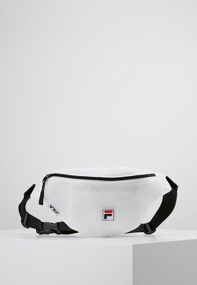 WAIST BAG SLIM - Bum bag - white