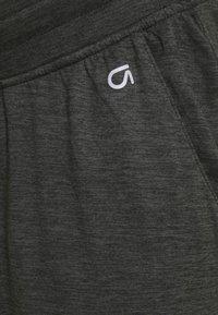 GAP Maternity - UNDERBELLY MIX - Teplákové kalhoty - true black - 5