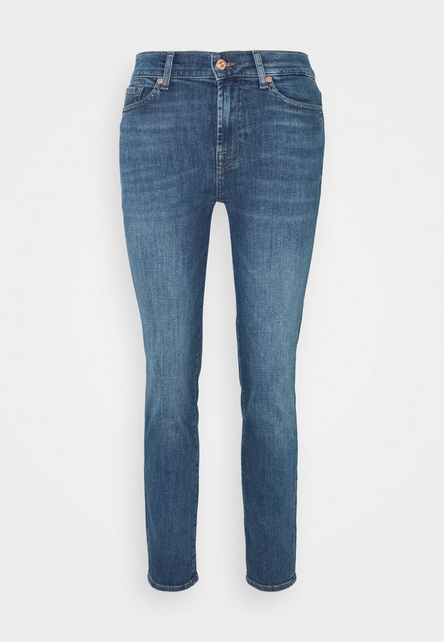 ROXANNE ANKLE INTRO - Jean slim - mid blue