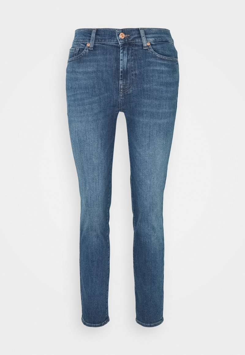 7 for all mankind - ROXANNE ANKLE INTRO - Slim fit jeans - mid blue
