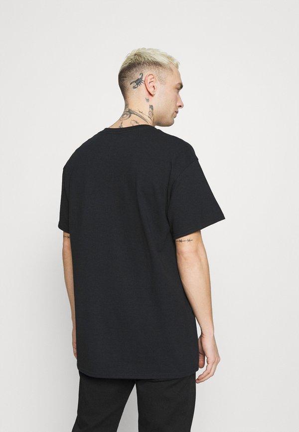 Night Addict T-shirt z nadrukiem - black/czarny Odzież Męska IAVP
