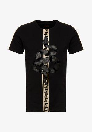 DEVANEY - T-shirt con stampa - black