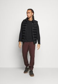 Black Diamond - NOTION PANTS - Tygbyxor - port - 1