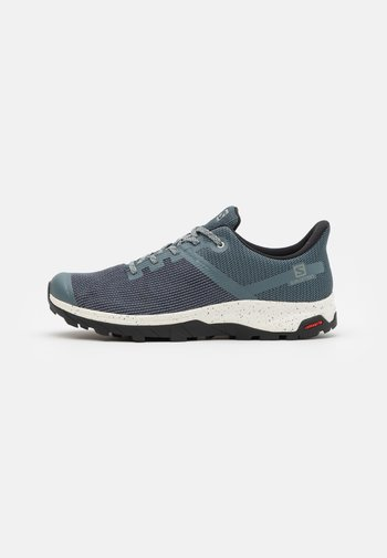 OUTLINE PRISM GTX - Hiking shoes - stormy weather/vanilla/black