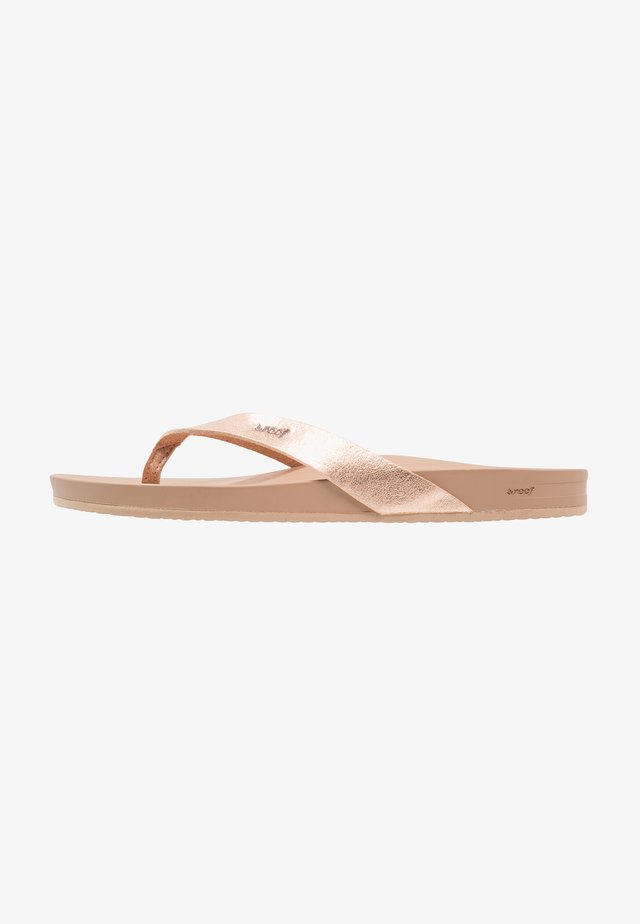 CUSHION BOUNCE COURT - Tongs - rose gold